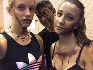 Las hordas de zombies invadieron Cofrentes