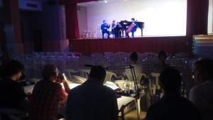 Exito del I Concurso de Música de Cámara
