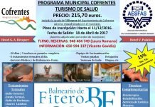 Programa Municipal de Turismo de Salud de Cofrentes