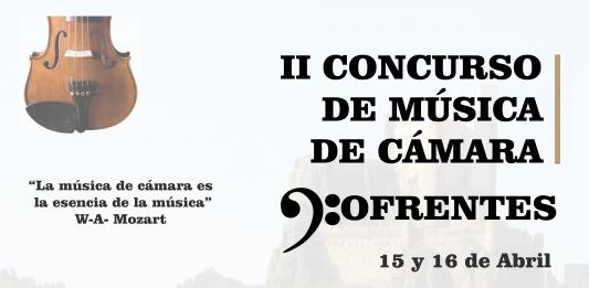 II Concurso de Musica de Cámara en Cofrentes